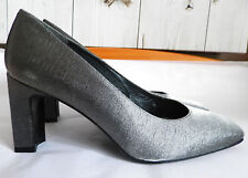 Stuart Weitzman para Russell & Bromley (UK4/EU37/US6) de Plata Metálico Zapatos-Nuevo