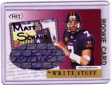 Matt Schaub auto/autograph card #/25  nice.
