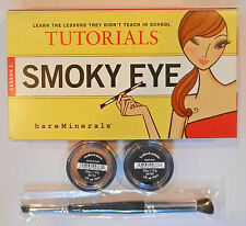 BARE ESCENTUALS TUTORIALS LESSON 1 SMOKY EYE KIT Retail Price $32
