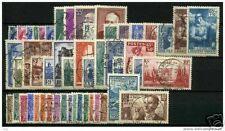 FRANCE ANNEE COMPLETE 1938 OBLITEREE TB, VALEUR: 301€