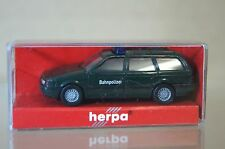 HERPA 1:87 VW VOLKSWAGEN PASSAT VARIANT BAHNPOLIZEI mc