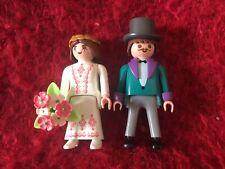 Sposa E Sposo figure di Papo-adatto come giocattolo o wedding Cake Topper-Nuovo!