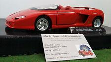 FERRARI MYTHOS PININFARINA cabriolet rouge o 1/18 GUILOY 67511 voiture miniature
