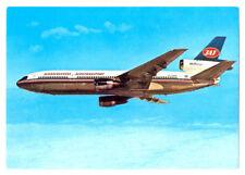 JAT Yugoslav Airlines Issued Douglas DC-10 Postcard