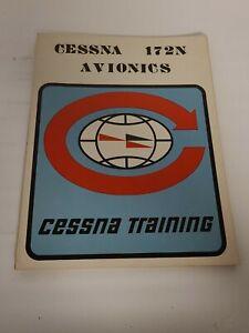 Vintage 1977 Cessna 172N Avionics Training Manual Book 41 Page W/Illustrations