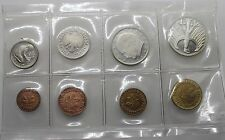 SET 8 COINS GERMANY 1969 G 1 PFENNING ~ 5 MARK RARE