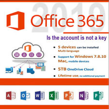 ✅🔥 Microsoft Office 365 Pro Plus  Account With 5 Devices And 5TB ✅🔥,