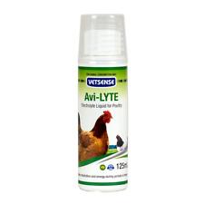 Vetsense Avi-lyte Energy Booster Electrolyte Liquid Poultry Supplement 125ml