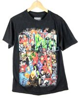 Marvel Men's Classic Size Medium Graphic Black Tee T-Shirt