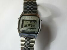 VINTAGE SEIKO DIGITAL LCD ALARM / CHRONOGRAPH QUARTZ WATCH A904-5199 JULY 90