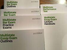 Themis 2017 UBE (Uniform Bar Exam) Review Materials Complete Set