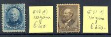 USA 1870/1882 -MI# 48 , 51 - CV € 700- (*) NO GUM --FINE