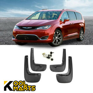 For 2017-2020 Chrysler Pacifica OE Front Rear Mud Flaps Splash Guards Mudguard