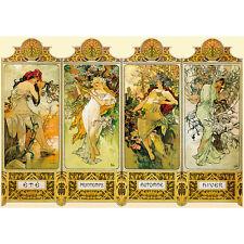 Alphonse Mucha Four Seasons 1000 Piece Jigsaw Puzzle
