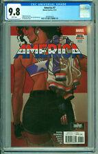 America #7 Marvel Comics 2017 CGC 9.8 Quinones Rivera 1 Origin of America Chavez