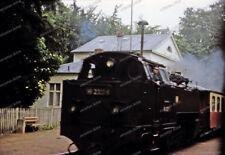 Farb-Dia-Bäderbahn Molli-Schmalspurbahn-Dampflok-99 2323-6-Bad Doberan-7