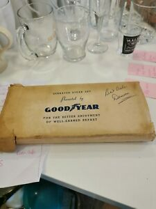Goodyear Steak Knives.  Made By Sheffield Steel Especially For Goodyear