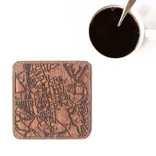 Oxford, England map coaster One piece  wooden coaster Multiple city IDEAL GIFTS