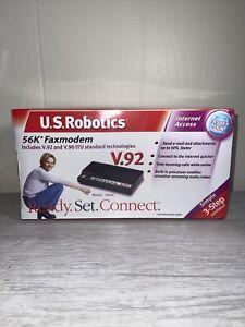 NEW SEALED - Robotics 5656E V.92 & V.90 ITU Standard Technologies 56k Faxmodem