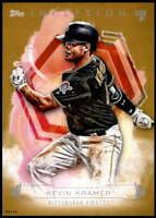 Kevin Kramer 2019 Topps Inception 5x7 Gold #48 /10 Pirates