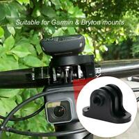 Alloy Bicycle Computer Camera Mount For Gopro & Garmin Edge / Bryton Computer
