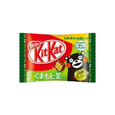 [Earthquake Relieve Edition] Japanese KitKat : Kumamoto green tea flavor 36g