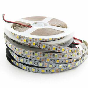 5V 12V 24V LED Strip Light White TV Backlight Lamp Self Adhesive Flexible Tape