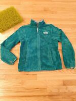 The North Face Women's Size S Teal Osito 2 Fleece Full Zip Jacket Style# AAHY