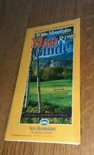 1998 Official New Hampshire White Mountains Map Guide Road Less Traveled Map NH