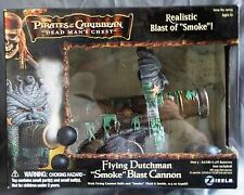 Disney Pirates of Caribbean Dead Man's Chest Flying Dutchman Blast Smoke Cannon
