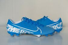 Nike Mercurial Vapor 13 Academy Fg At5269-414 Blue Mens Soccer Cleats Size 8.5