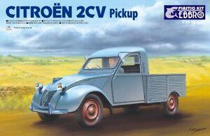 Ebbro 25004 - 1/24 Citroen 2CV Pickup - New