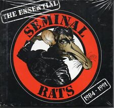 THE ESSENTIAL SEMINAL RATS - 1984-1991 - NEW & SEALED CD