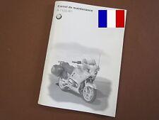 BMW R1150RT Carnet de maintenance