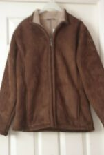 Mens Brown Zipped Jacket - Size S (35-37 in) - by West Rock      NEW with tags