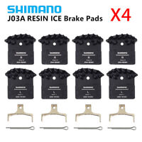 4PCS Shimano J02A/J03A Resin Cooling Fin Ice Tech Disc Brake Pads XT XTR SLX