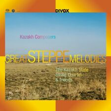 KAZAKH COMPOSERS - GREAT STEPPE MELODIES FROM KAZAKH   SACD NEUF