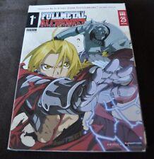 FullMetal Alchemist First Season 1 - 25 4 DVD set 2004 Region 1 NTSC En/Jp Audio