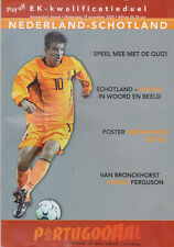 Programme / Programma Holland v Scotland 19-11-2003 EURO 2004 Qualifier