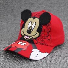 Mickey Minnie Baseball Caps Kids Baby Boys Girls Adjustable Children Snapback