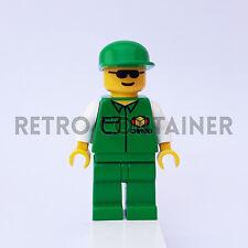 LEGO Minifigures - 1x car003 - Cargo Worker - Omino Minifig Set 6330 6325