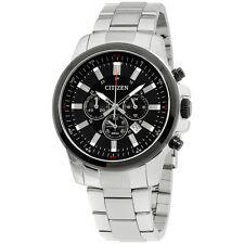 Citizen Black Dial Stainless Steel Men's Watch AN8081 57E