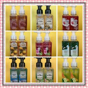 2 Bath & Body Works Gentle Foaming Hand Soap 8.75 fl oz/259 mL U PICK SCENT NEW