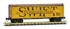 Micro-Trains MTL Z-Scale 40ft Wood Reefer Car Swift Refrigerator Line/SRL #1944
