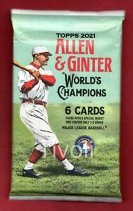 2021 Topps Allen & Ginter Auto/Jersey/Cut/Relic/Plate HOT Pack Trevor Lawrence?.