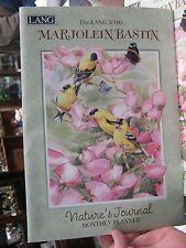 NOS NEW 2016 monthly planner Calendar LANG Marjolein Bastin natures Journal