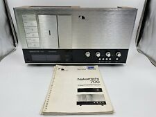 Nakamichi 700, 3 Head Cassette System, Tested & Working w/Service Manual
