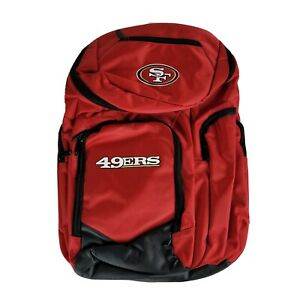 San Francisco 49ers Forever Collectibles Traveler Backpack Red