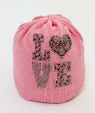"CATYA Sommermütze ""LOVE"" in rosa 100% Baumwolle  NEU"