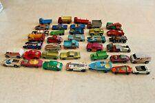 Lot of Vintage Die cast Cars  Lesney Hot Wheels Some Redline Matchbox LOT